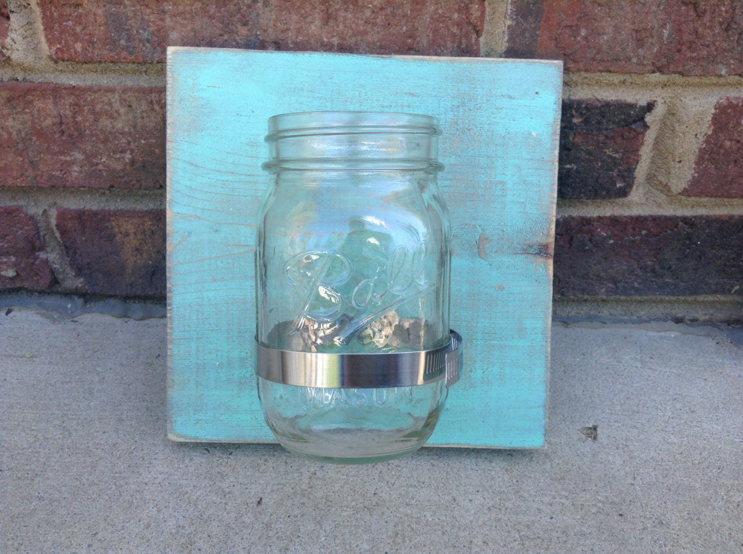 mason jar wall decor rustic home decor by thesoutherndelight On mason jar home decorations
