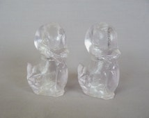 Vintage Duck Salt and Pepper Shakers