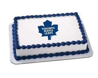 Edible Image NHL TORONTO MAPLE Leafs