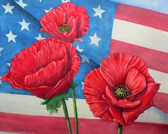 Veteran's Poppies