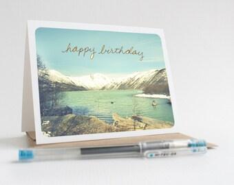 Happy Birthday / Mount St. Helens, Washington Greeting Card