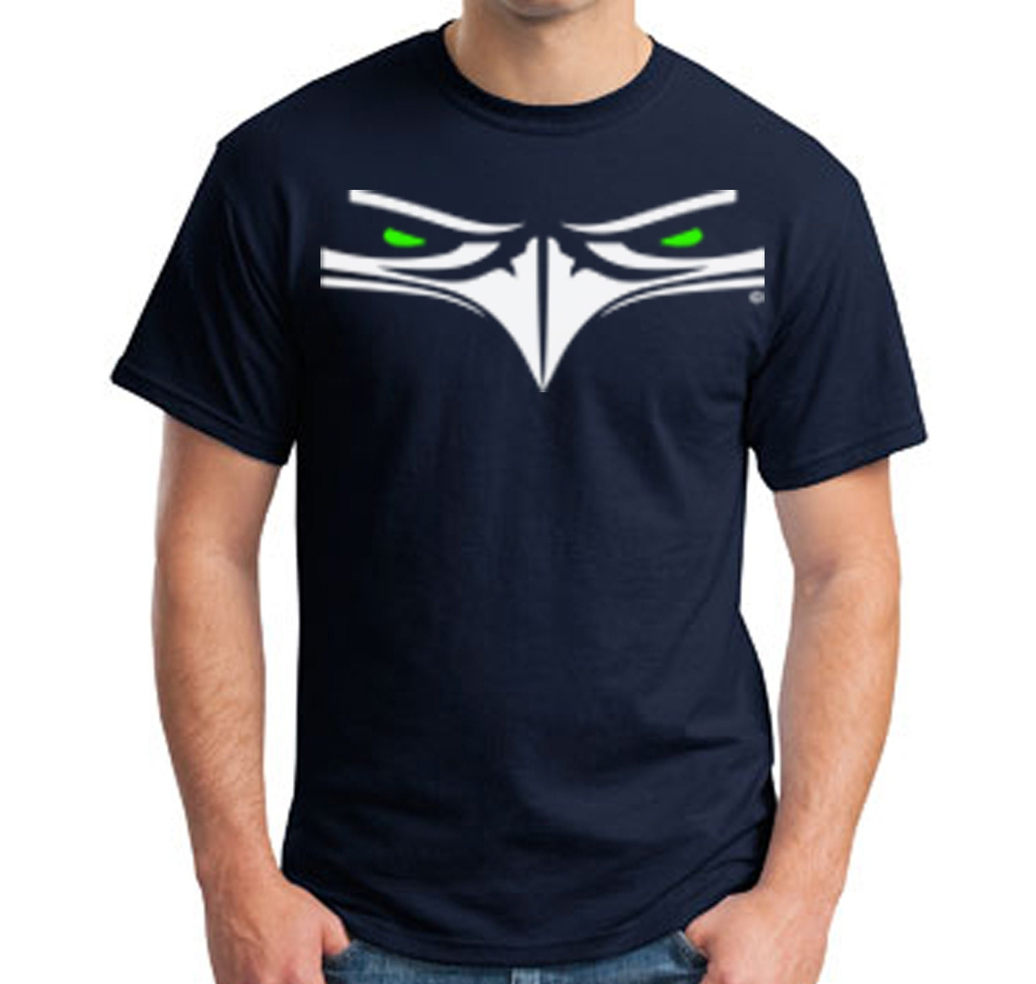 Top seller seattle seahawks t shirt adult sm 5xlg for Seahawks t shirt womens walmart