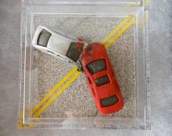 Car Krash Magnet