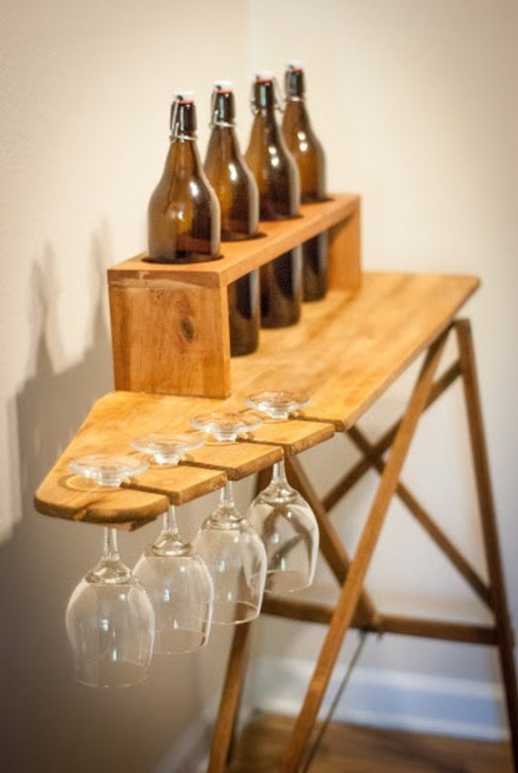 March Finds Rustic Wine Bar Cocktail Hour Wedding Prop Wooden