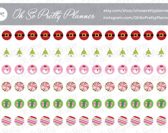 Planner Stickers - Decorative Holiday Mini Dots