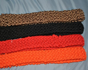 Full Set of Amtgard Knit or Woven Class Sashes - Custom Size