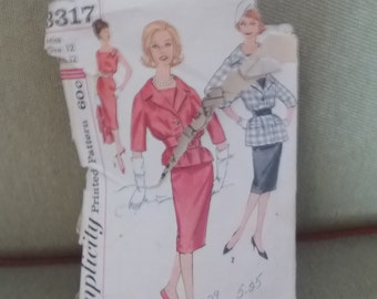 Vintage Simplicity sewing Pattern 3317