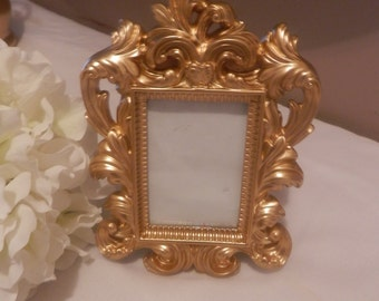 Bridesmaid gift, Wedding picture frame, gold picture frame. gold wedding , gift , bridal gift frame, bridemaids gift