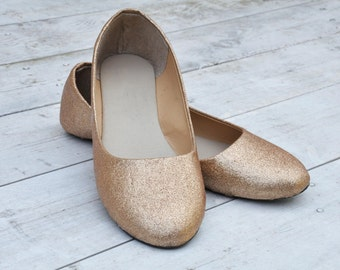 Wedding shoes Ivory wedding shoes Champagne flats Wedding shoes ivory Low heels flats ivory shoes handmade shoes custom shoes