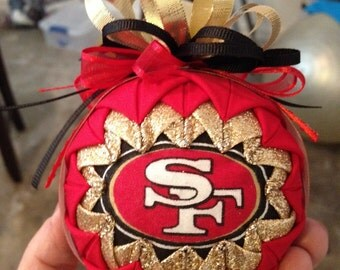 San francisco 49er's ornament