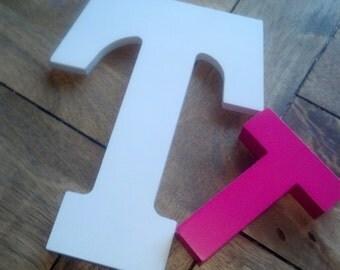 "Block Letters / Wooden Block Letters 9"""