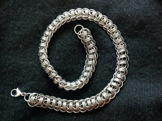 Stainless steel Fire Wyrm choker