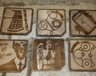 Doctor Who coaster set (6 pc.)
