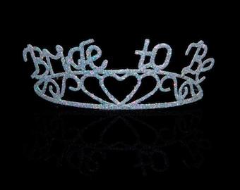 Bride to Be Sparkle Tiara Party Favor Decor - 152000