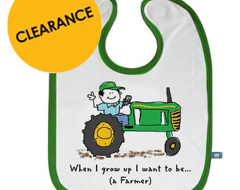 When I Grow Up I want to be a Farmer Bib