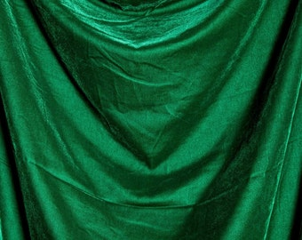 Velvet - green, red, blue, black, white