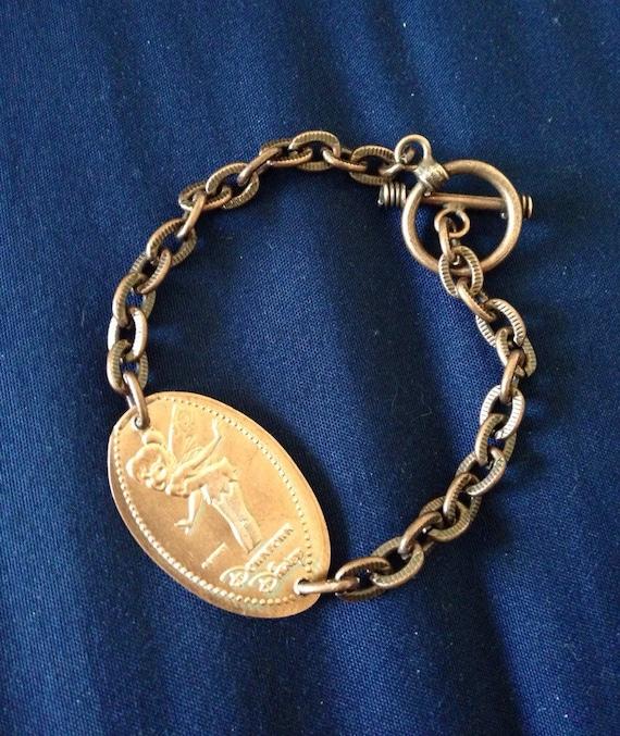 disneyland pressed bracelet