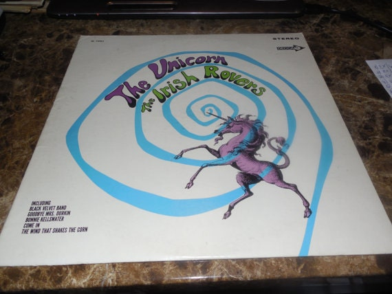 Vintage Vinyl Record The Irish Rovers The Unicorn By