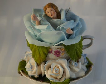 Free shipping on TEACUP FAERIES - BLUE