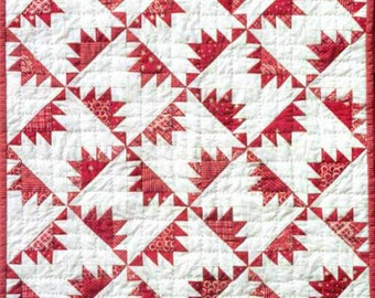 Delectable Mountain Mini Quilt Pattern