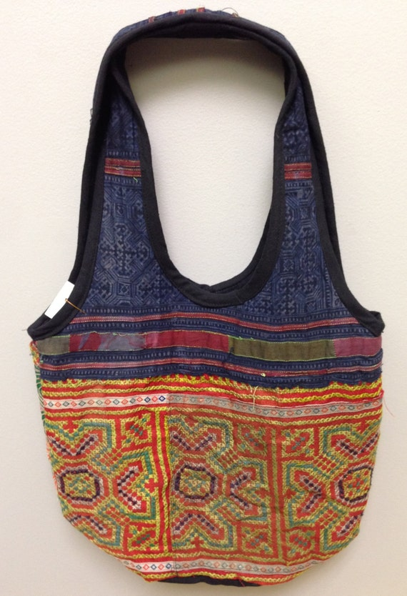 Chinese Bag Hmong Embroidered Purse Hill Tribe Handmade Embroidered  Bag Purse Hand Woven Colorful Gift for Her One of Kind Tribal