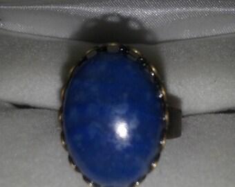 Sodalite Stone Ring R102