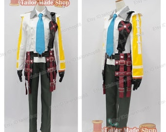 FFXIII-2 Final Fantasy XIII-2 Hope Estheim Cosplay Costume