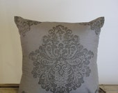Unique Mocha Brown and Gold Exclusive Design Cushion Cover by Peacock and Penny. 50cms x 50cms