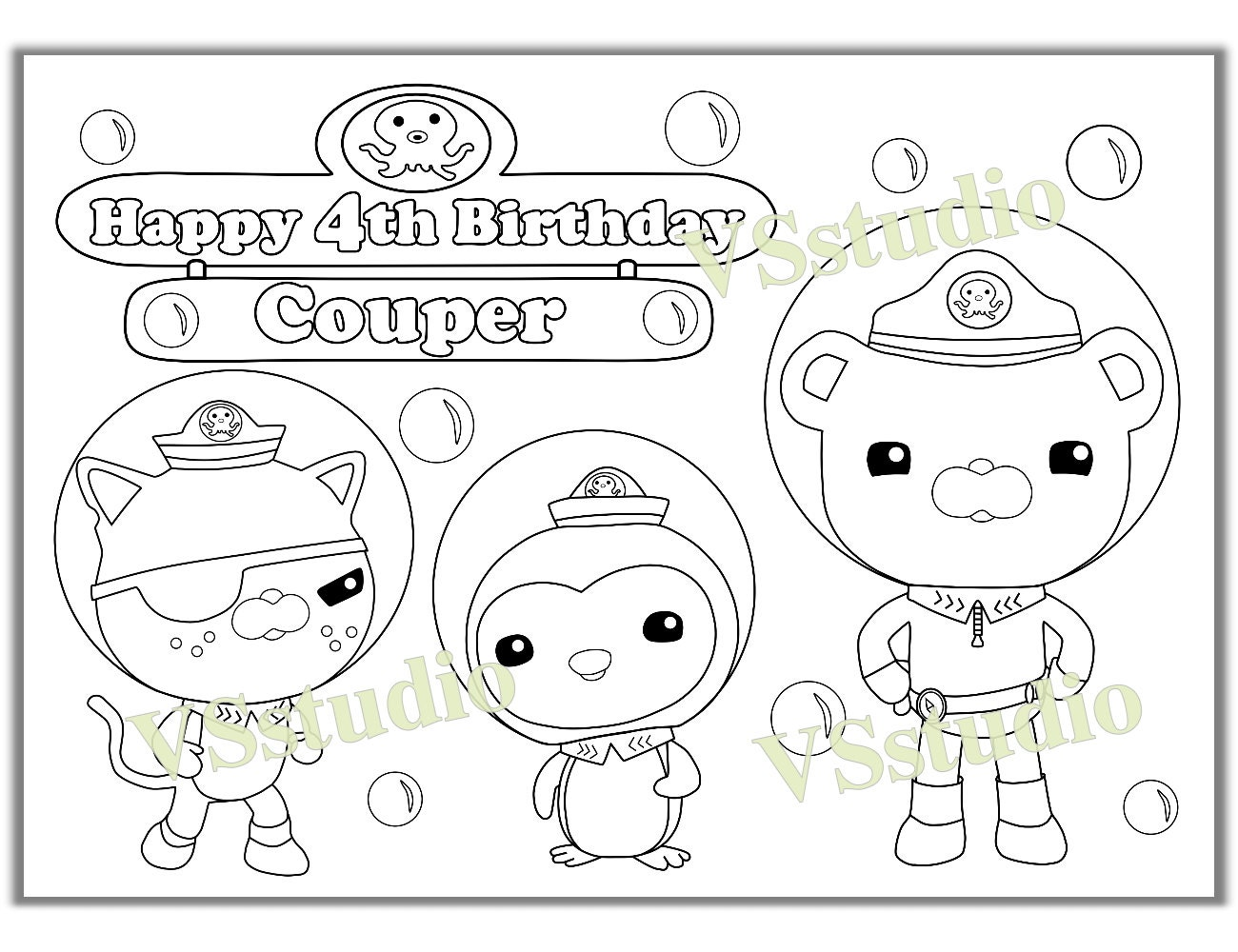 octonauts coloring pages all creatures - photo#9