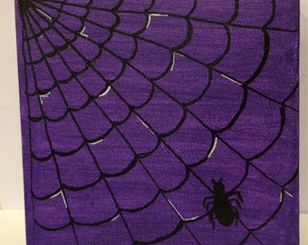Spiderweb Painting