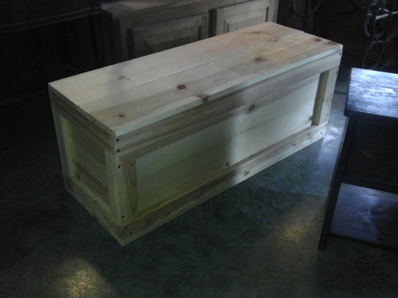 simply pine storage chest storage bench foot of bed bench