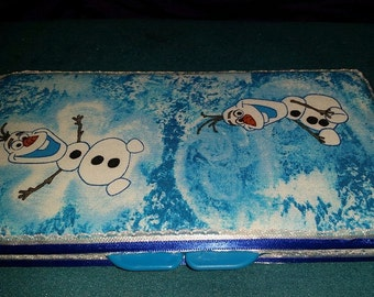 Olaf Diaper Wipe Case