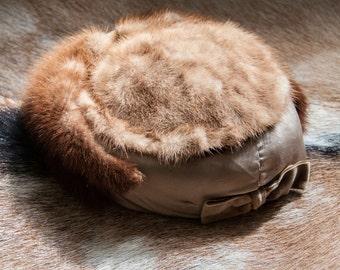 1960's Vintage Mink Hat