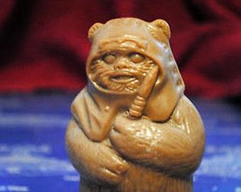 Handmade Wicket Ewok Soap – Star Wars Soap, Christmas Gift - Ewok Wicket