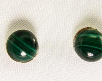 Malachite 6mm Earrings