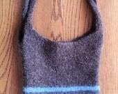 Felted Wool Tote Bag