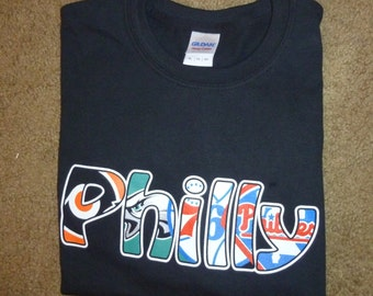 Philly Sports T-Shirt Black