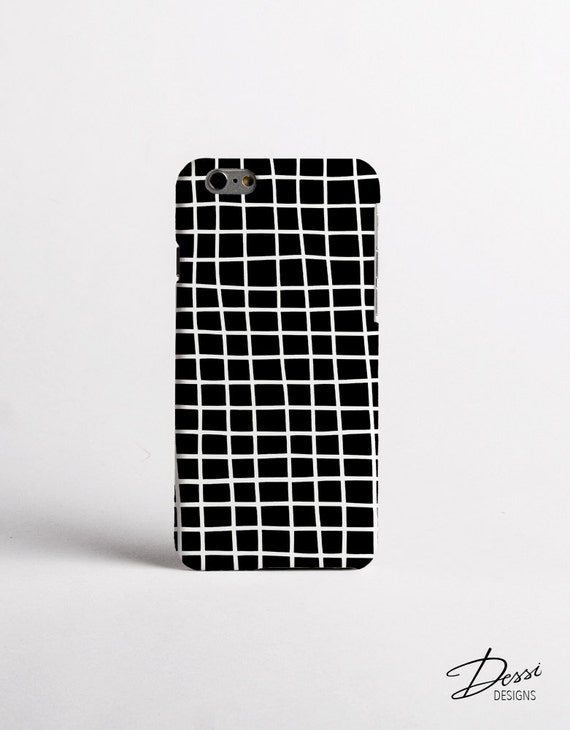 Cross Stripes Case Design in Black and White for iPhone cases, Samsung Cases, Sony Cases, HTC Cases and BlackBerry cases
