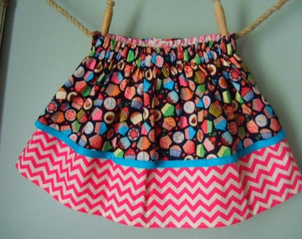 Twirl Skirt - Lil' Cupcakes - Layered