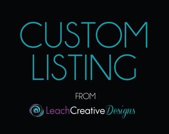 Custom Poster Print Digital Design