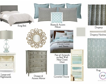 Paint Color Selection: Online Interior Design Service