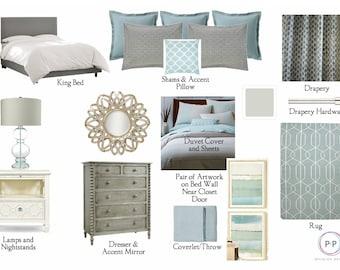 Bedroom Package Online Interior Design Service E Services Moodboard
