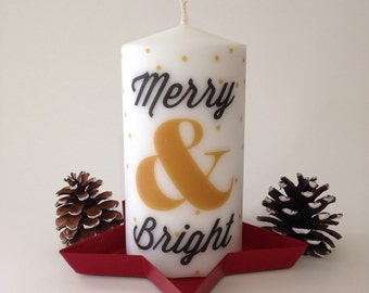 Merry & Bright Holiday Candle