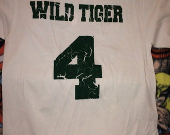 Tiger and Bunny Anime Wild Tiger Kotetsu T Kaburagi Tshirt
