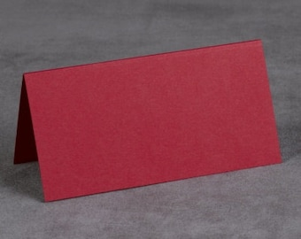 Red Wedding Place Cards (Set of 50) Wedding Supplies