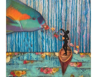 A Tale Of My Own Making (Fish Tale) - Giclee Prints