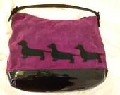 DACHSHUND Benetton Bag / Shopper - big