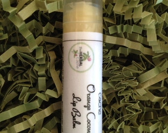 Orange Coconut Lip Balm