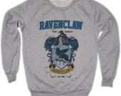 Ravenclaw Harry Potter Hogwarts Quidditch Team Festival Retro VTG Jumper Sweater Sweatshirt Long Sleeve Crewneck Round neckline S M L