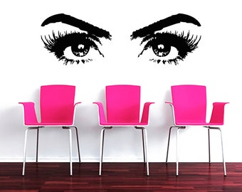 Salon decal etsy for A creative touch beauty salon